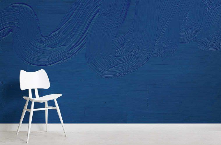 parete blue pantone classic