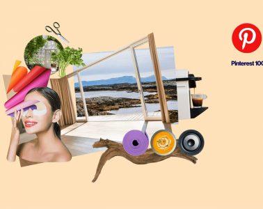 Moodboard di tendenze Pinterest 2020